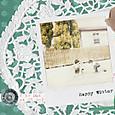 ポラ写真を使ったカード2011