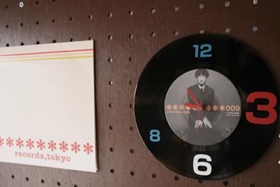 レコード時計2007