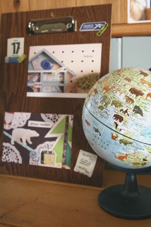 ポストカードの飾り方2009